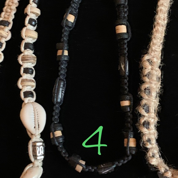 2Flamez Design Studio Jewelry - NWOT Macrame Surfer Bracelets - 5 Styles